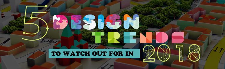 graphic design trends 2018 | graphic design trends