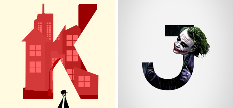 Negative-Space-Typography